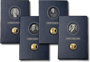 Presidential $1 Coin Historical Signature Set