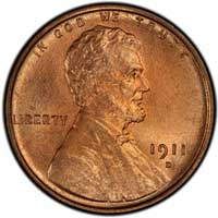 1911 D Lincoln Wheat Cent