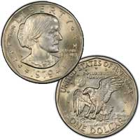 1979 Susan B. Anthony Dollar