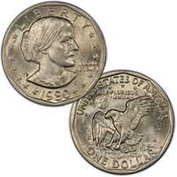 1980 Susan B. Anthony Dollar