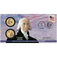 2007 James Madison $1 Coin Cover (P24)