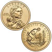 Native American $1 Coin 2009