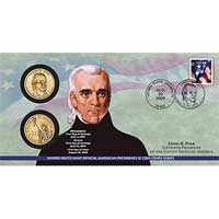 2009 James K. Polk $1 Coin Cover (P31)
