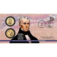 2009 William Henry Harrison $1 Coin Cover (P29)