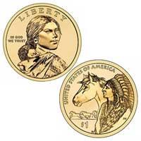 Native American $1 Coin 2012