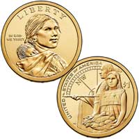 Native American $1 Coin 2014