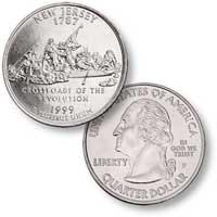 1999 New Jersey Quarter