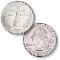 2000 Maryland Quarter