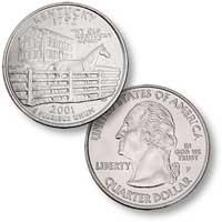 2001 Kentucky Quarter