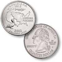 2002 Louisiana Quarter