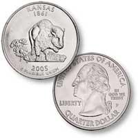 2005 Kansas Quarter