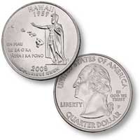 2008 Hawaii Quarter