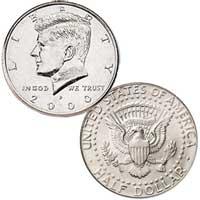 Kennedy Half Dollar 2000