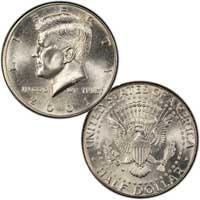 Kennedy Half Dollar 2001
