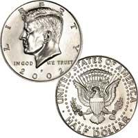 Kennedy Half Dollar 2002