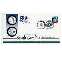 2000 - South Carolina First Day Coin Cover (Q17)