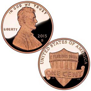 Lincoln Cent 2015