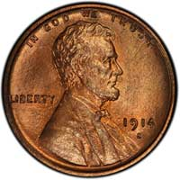 1914 S Lincoln Wheat Cent