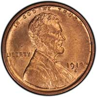 1918 S Lincoln Wheat Cent