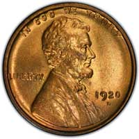 1920 D Lincoln Wheat Cent