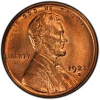 1925 D Lincoln Wheat Cent