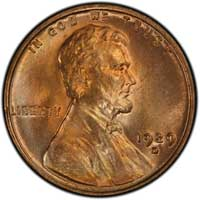 1929 D Lincoln Wheat Cent