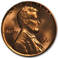 1961 Lincoln Cent