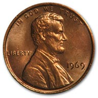1969 Lincoln Cent