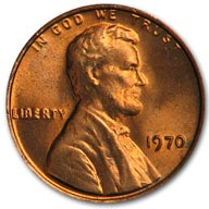 1970 Lincoln Cent