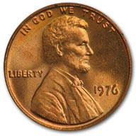 1976 Lincoln Cent