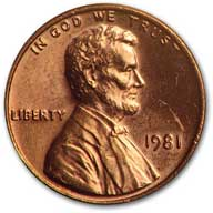 1981 Lincoln Cent