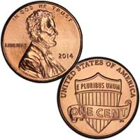 Lincoln Cent 2014