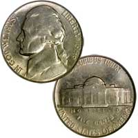 1946 S Jefferson Nickel