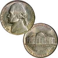 1953 S Jefferson Nickel