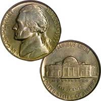 1955 D Jefferson Nickel