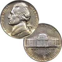 1959 D Jefferson Nickel