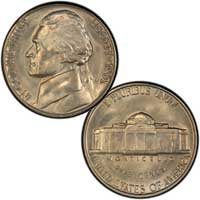 1961 Jefferson Nickel