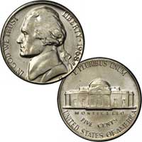 1968 Jefferson Nickel