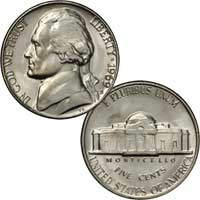 1969 Jefferson Nickel