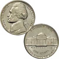 1973 Jefferson Nickel