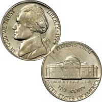 1974 Jefferson Nickel