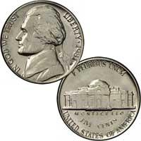 1981 Jefferson Nickel