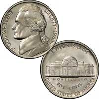 1983 Jefferson Nickel