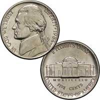 1984 Jefferson Nickel