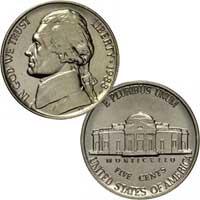 1988 Jefferson Nickel