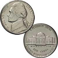 1993 Jefferson Nickel