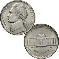 1995 Jefferson Nickel