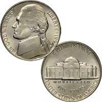 1997 Jefferson Nickel