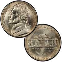 2000 Jefferson Nickel