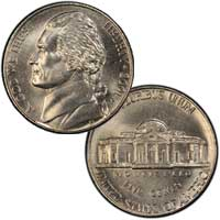 2001 Jefferson Nickel